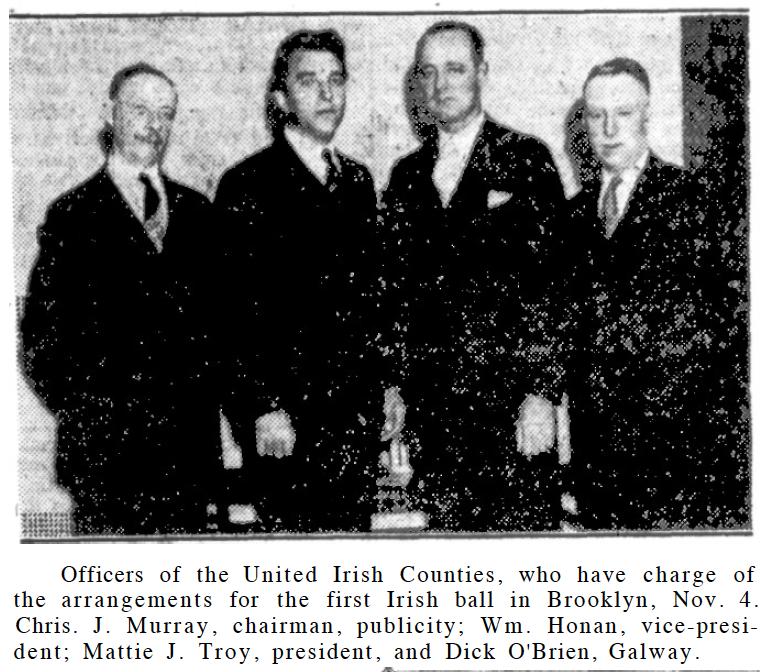Christopher J. Murray, William Honan, Matthew J. Troy, Dick O'BRien