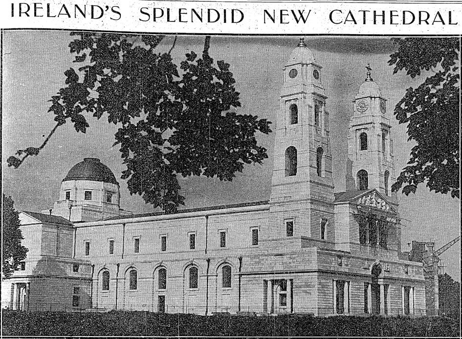 Mullingar Cathedral August 8, 1936 - Irish Independent