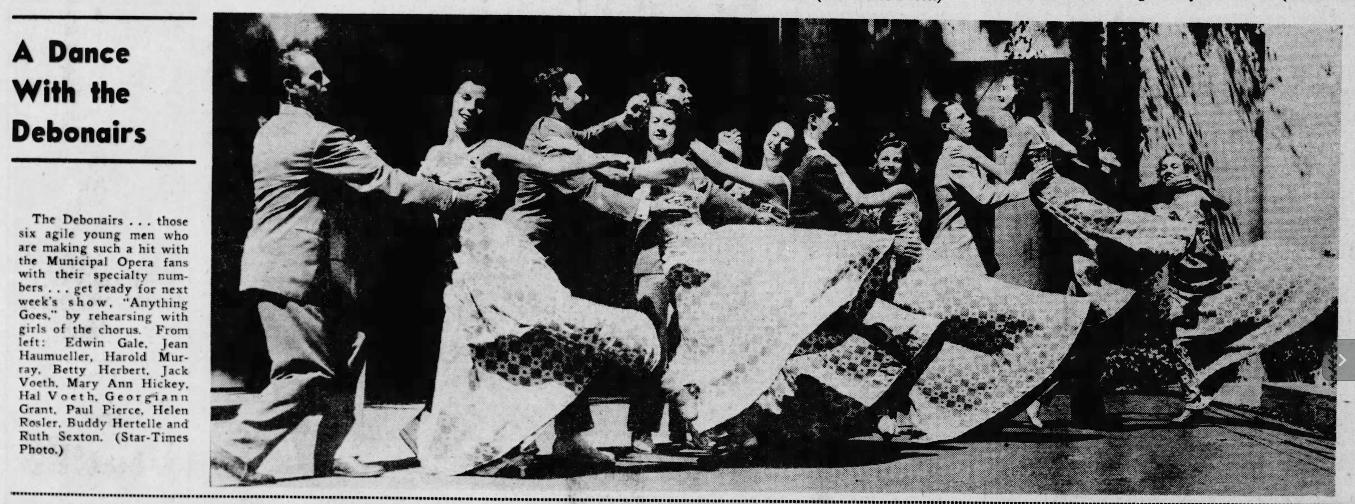 The Debonairs Dance Group