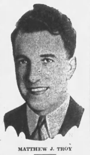 matthew j. troy in 1934